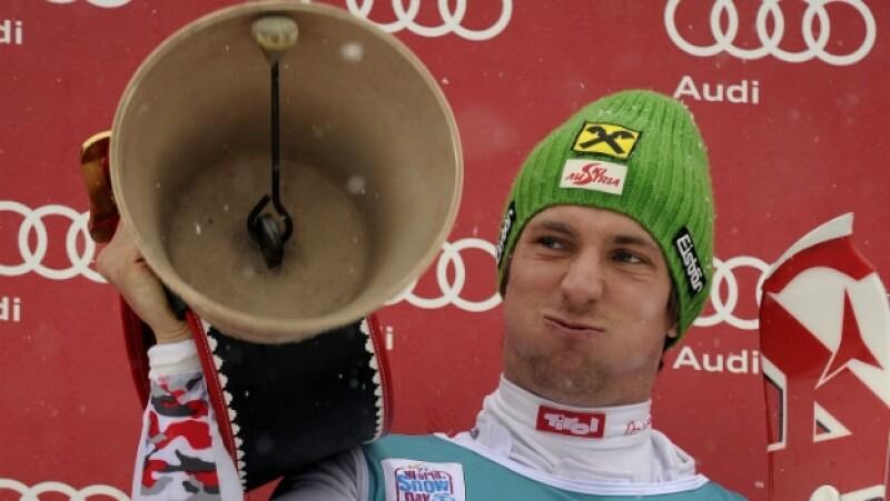 Deporte, invierno, esquí, cencerro, ruido
