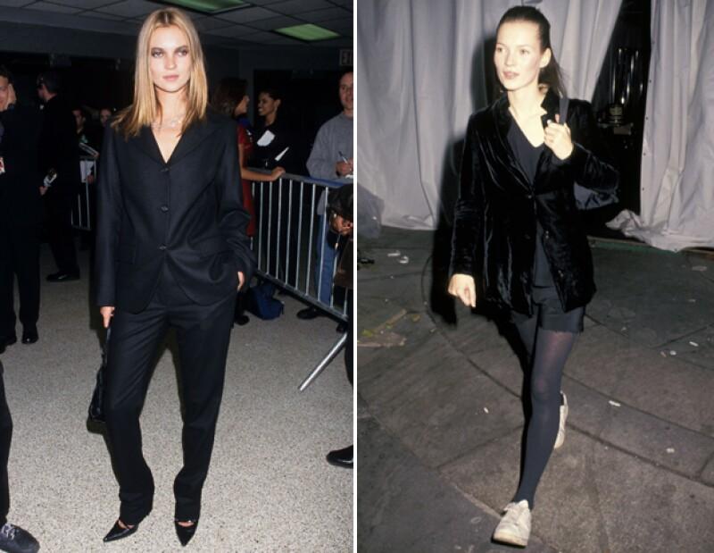Kate Moss rompió con lo que se conocía en el mundo del modelaje y fue conocida por su estilo.
