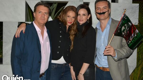 Enrique Gavica,Lourdes Peláez,Karina Castellanos y Pablo González.