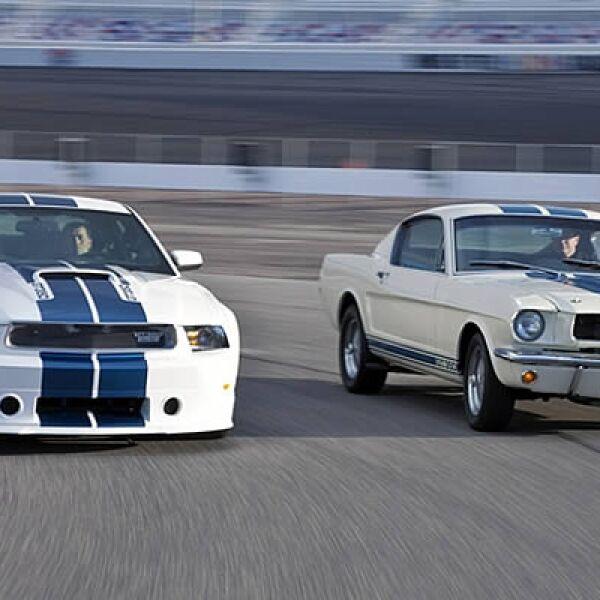 El nuevo GT350 Shelby contará con un motor de 8 cilindros con 500 caballos de fuerza.