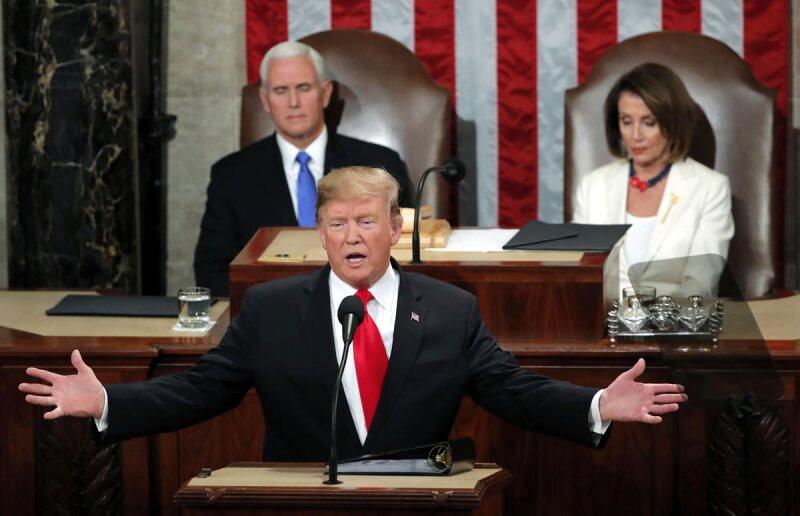 Donald Trump mensaje a la nación T-MEC