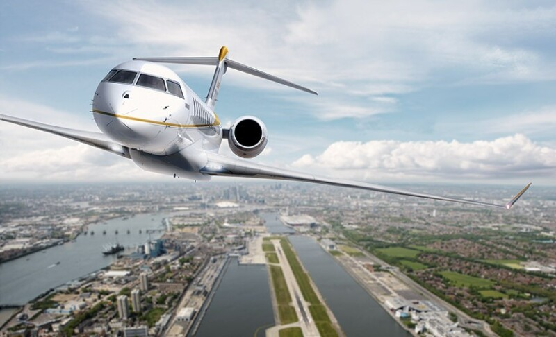 Bombardier's Global 7000 business jet