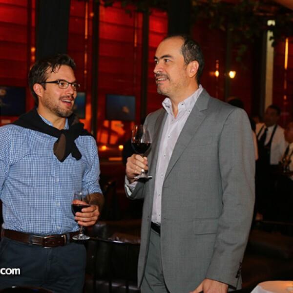 Rodrigo Luque y Eduardo Tovar