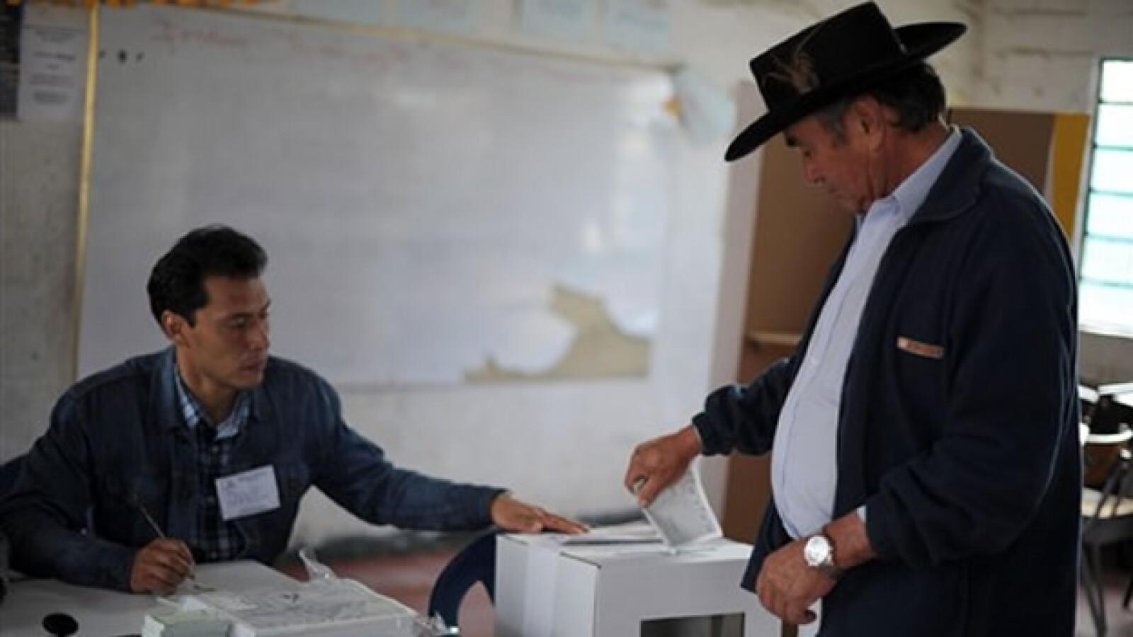 Cajica Cundinamarca elecciones AFP
