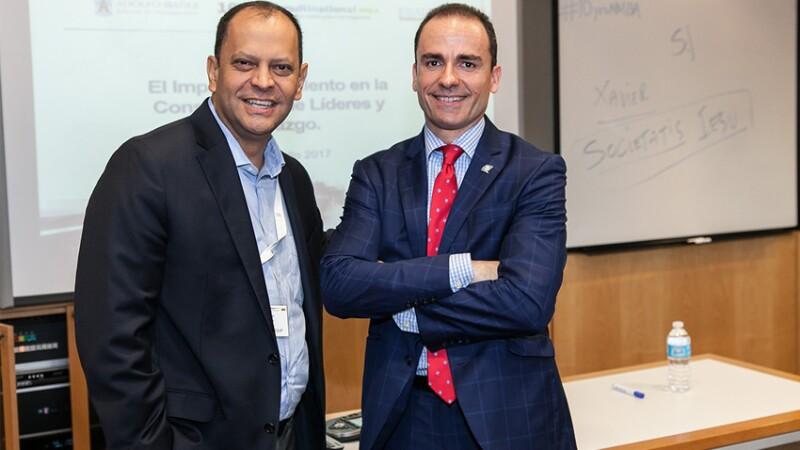 Ernesto Uscher, RBL Group y Amado Philip de Andrés,