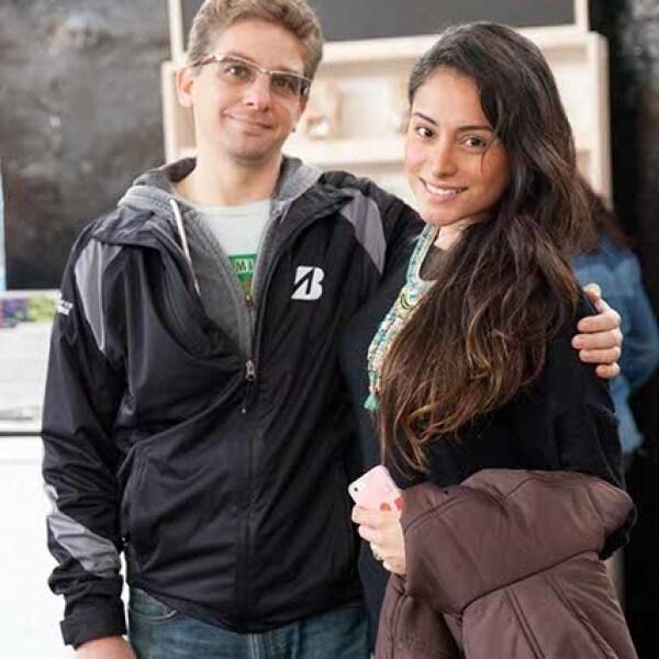 Patricio Calomarde y Sara Manzanárez