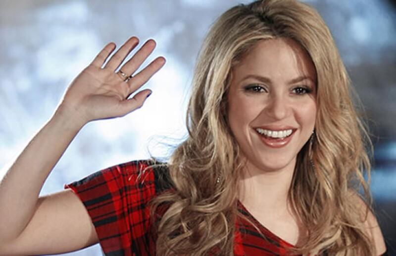 Shakira es Acuario.