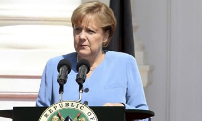 """""""La condición es que seamos capaces de decidir sobre un nuevo programa completo ara Grecia"""", dijo Merkel. (Foto: Reuters)"""