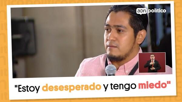#EnSegundos | Hijo de periodista pide justicia