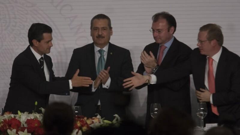 Peña Nieto plenaria PRI