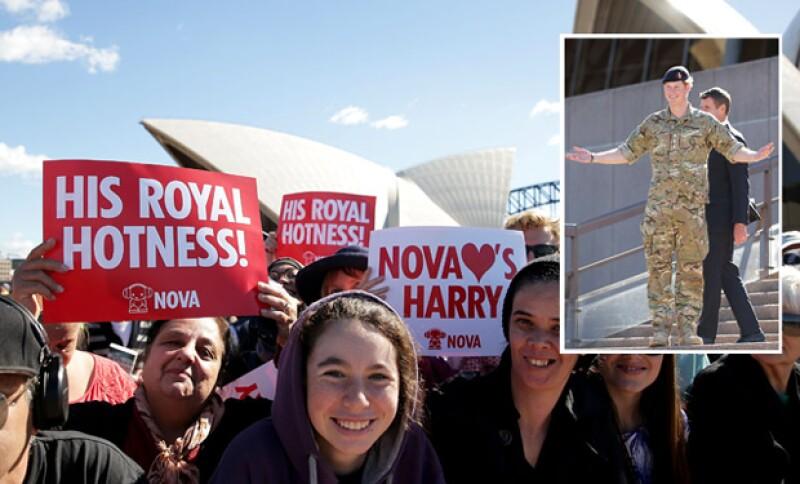 El príncipe Harry mejor conocido como His Royal Hotness.