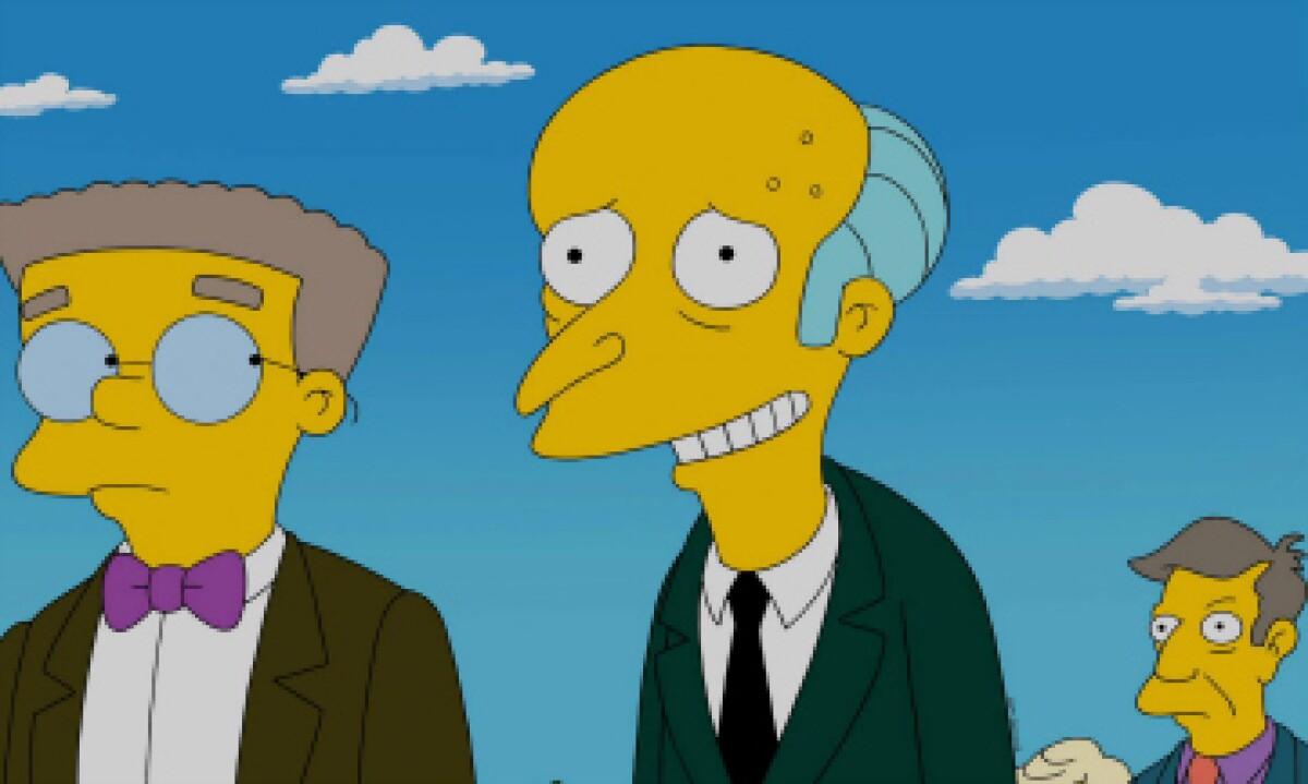La voz del Sr. Burns vuelve a 'Los Simpson'