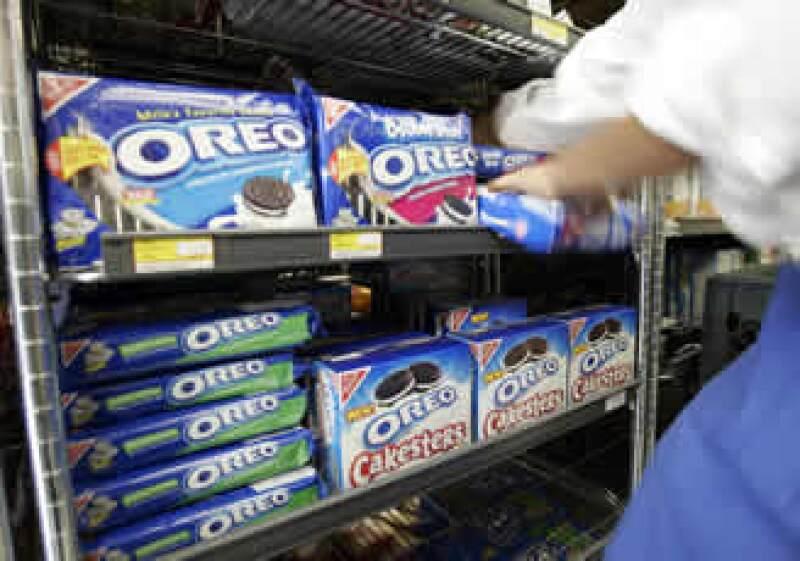 La empresa fabrica las galletas oreo, los chocolates Cadbury y el queso crema Filadelfia. (Foto: AP)