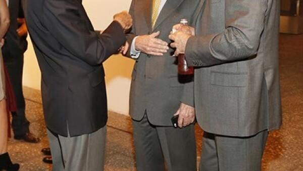 Manuel Arango, Augusto Elías y Daniel Pastor