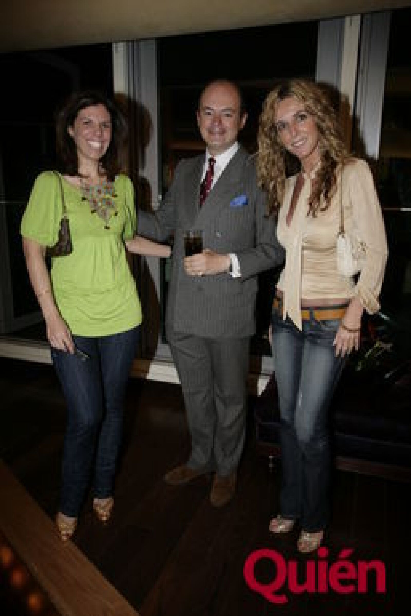 Constanza Mccluskey, Rodrigo López-Portillo, Patricia Michelle