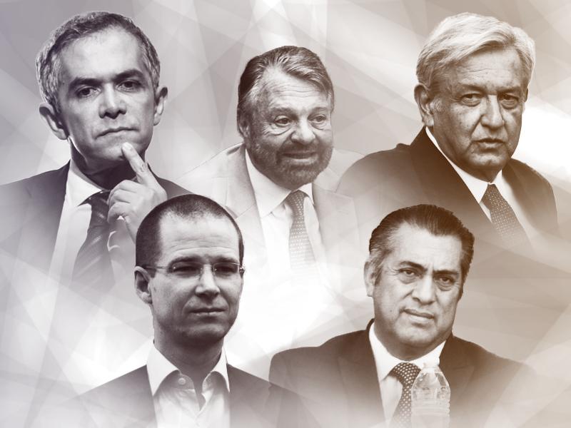 Los aspirantes a la Presidencia