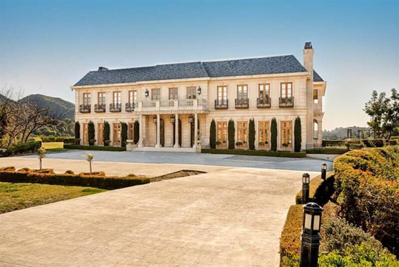 Esta es la mansión que Neymar rentó en Los Ángeles.