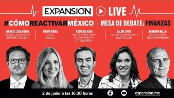 Acciones, retos y cambios en el sector financiero en la nueva normalidad | #CómoReactivarMéxico