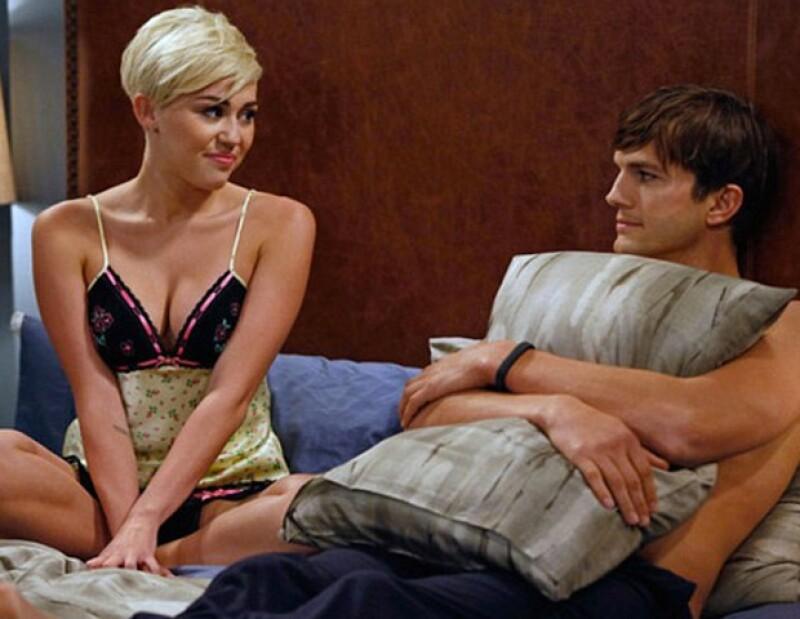 """¡Pero no piensen mal! Todo se debe a que la actriz formará parte de la serie """"Two and a Half Men"""", donde aparecerá con poca ropa."""