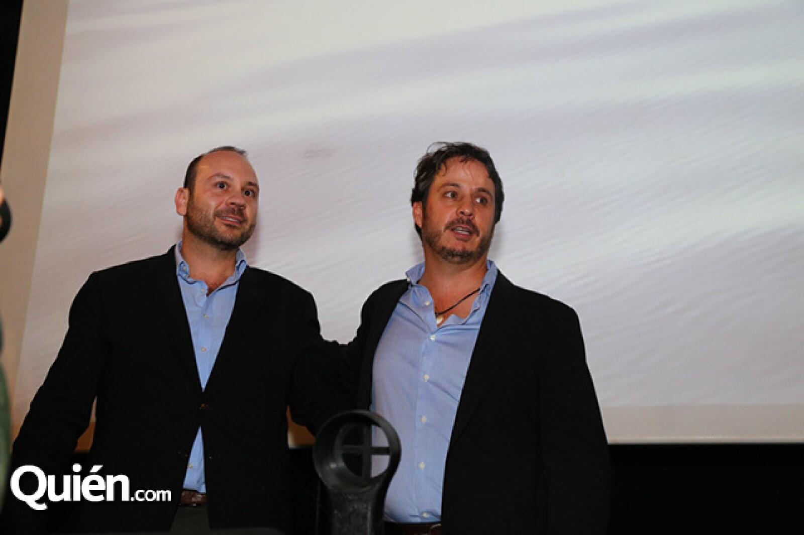 Alberto Rodríguez y Gerardo del Villar