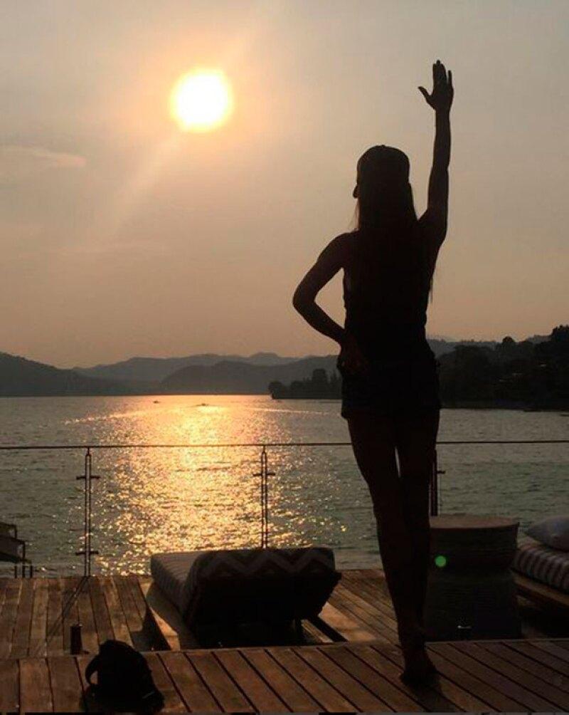 La ex Spice Girl se despidió de nuestro país con varios mensajes en perfecto español y con un video en el que asegura encontró su ritmo aquí.