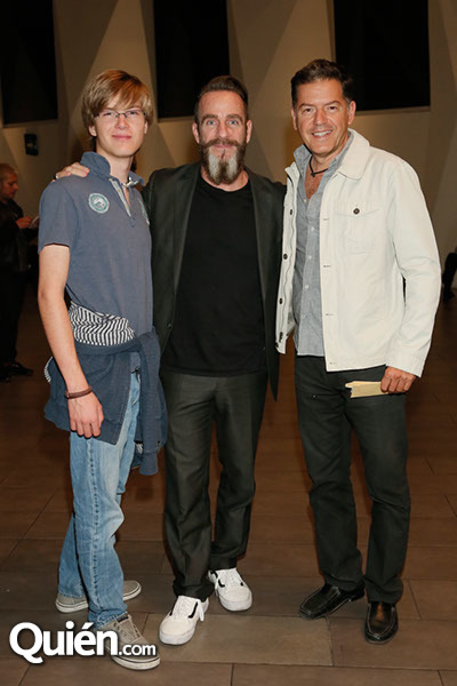 Santiago Salmón,Michel Rojkind y Alejandro Salmón