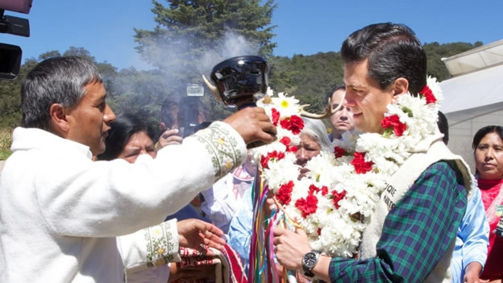 Enrique Peña Nieto indígenas Edomex 3