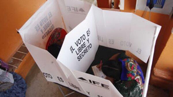 El 8.9% de las casillas monitoreadas estuvo sin funcionarios de casilla completos, dijo la Coparmex. (Foto: AP)