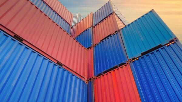 contenedores cajas mercancia t-mec importacion exportacion