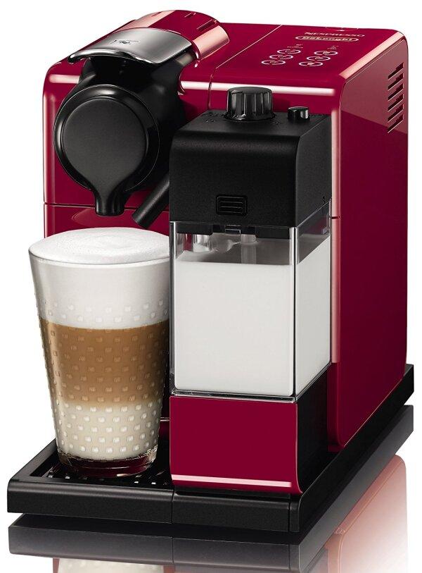 Cafetera Lattissima Touch Red de Nespresso
