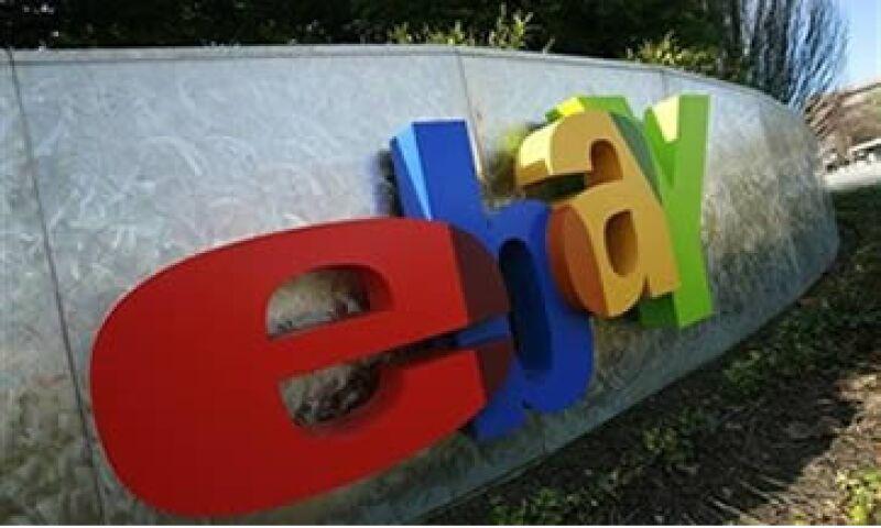 eBay informó que sus ganancias netas en el tercer trimestre fueron de 490.5 millones de dólares. (Foto: Reuters)