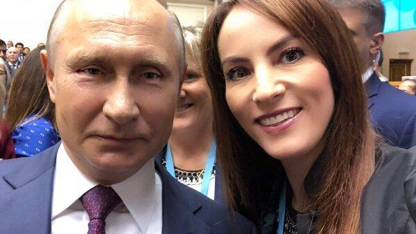 Gaby Cuevas y Putin
