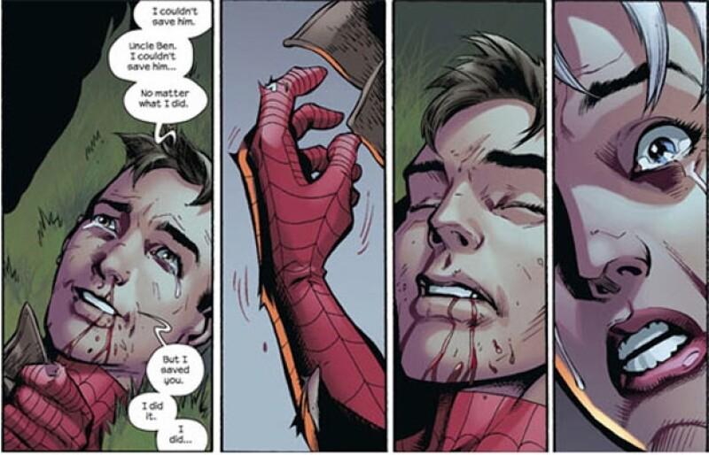 Mike Morales es el sucesor de Peter Parker luego de que éste muriera en las manos del Duende Verde.