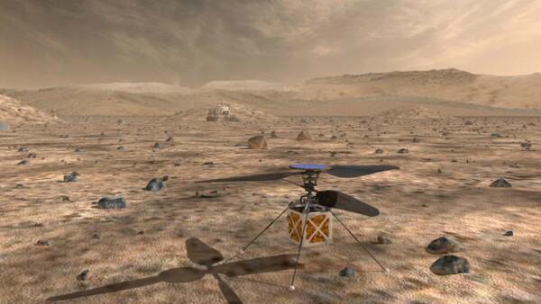 La NASA enviará un helicóptero a Marte