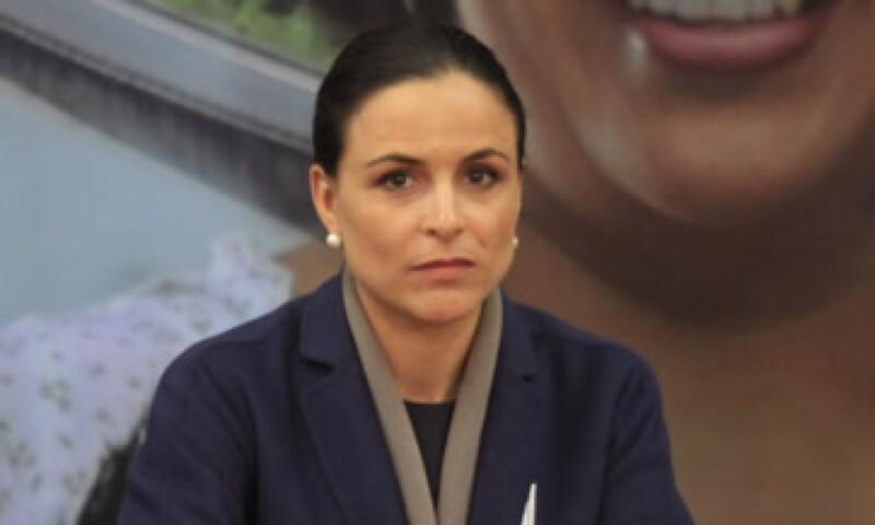 La comisionada presidente de la CFCE, Alejandra Palacios, aplaudió el envío de las propuesta de leyes secundarias enviadas por el Gobierno.  (Foto: Cuartoscuro)