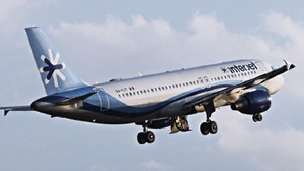 En una primera fase, se conectarán destinos de negocios como Guadalajara y Monterrey. (Foto: tomada de Facebook/Interjet)