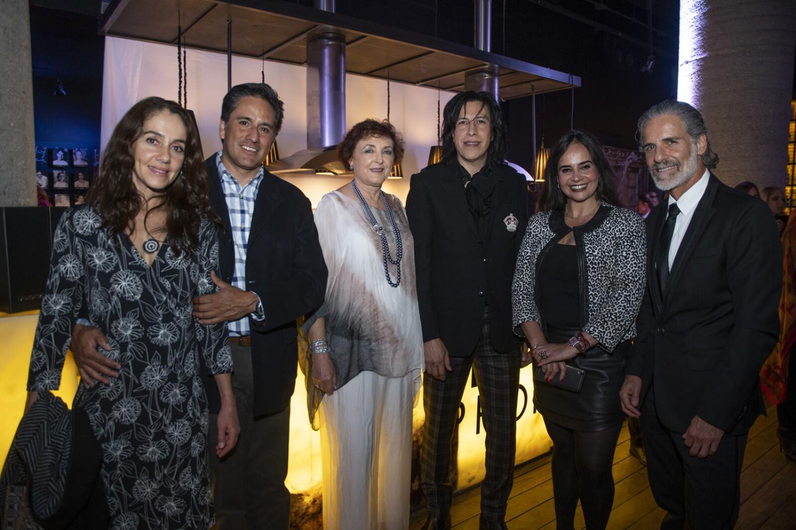 Rocio Boneta, Jorge Obregon, Veronica Solorzano, Miguel Millo, Maribel Lopez Zermeño, Carlos Bisdikian.jpg