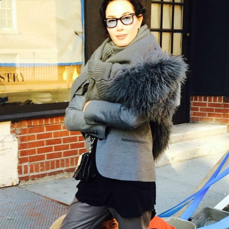 Como buena fashionista, Martha Cristiana es admiradora del trabajo de Óscar de la Renta.