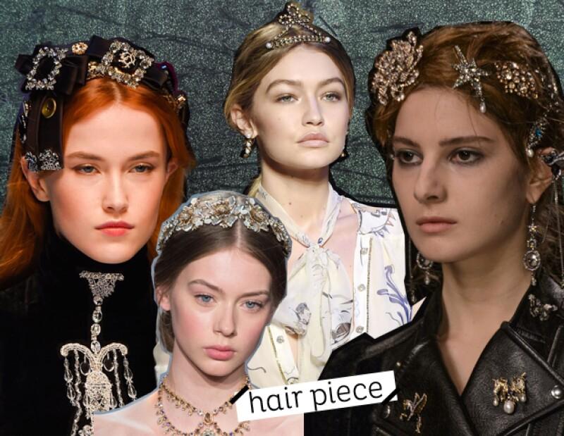 Los vimos en: Dolce and Gabbana, Tommy Hilfiger, Alexander McQueen y Marchesa.