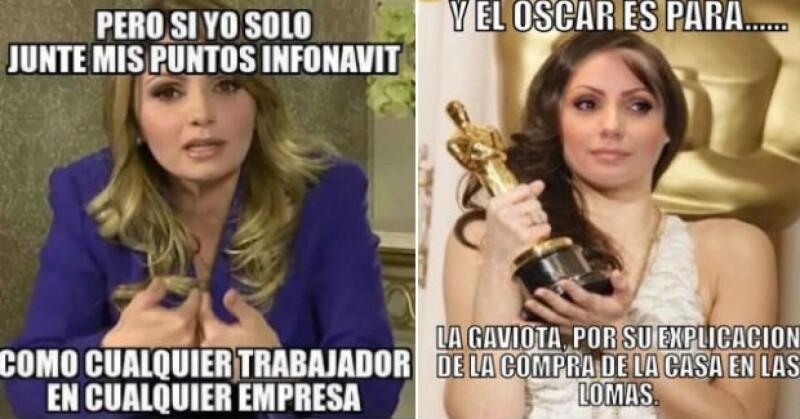 Angélica Rivera ha sido víctima de críticas de la sociedad que no está convencida con su declaración.