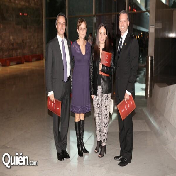 Mario Langariza,Cecilia Angoytia,Mónica Rivera,Luis Miguel Díaz