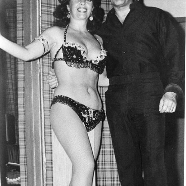 Joaquin Cordero y Yolanda Montes Tongolele.