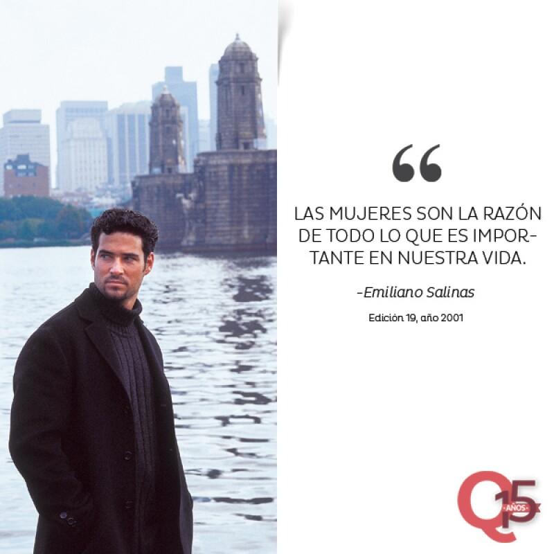 Emiliano Salinas.