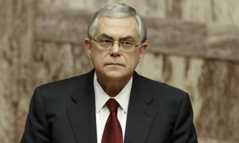 Lucas Papademos reconoció que Grecia se encuentra en una encrucijada crítica. (Foto: Reuters)