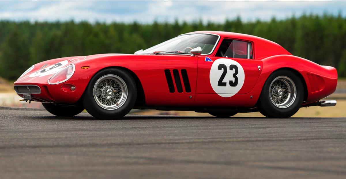 Ferrari tiene el auto más caro de la historia