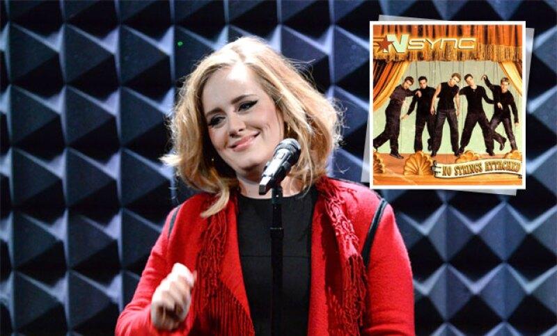 'Bye, bye, bye' a la boy band y 'Hello' a la cantante británica, quien ha roto el récord en Estados Unidos de más discos vendidos en la historia durante su semana debut.
