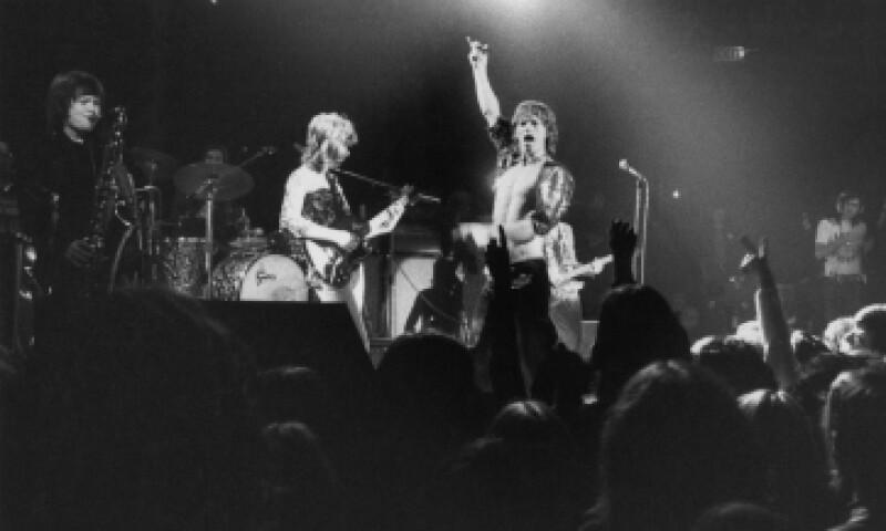 Entre los discos que regalará Amazon está el 'Sticky Fingers' de los Rolling Stones, de 1971, cuando esta foto fue tomada. (Foto: Getty Images)