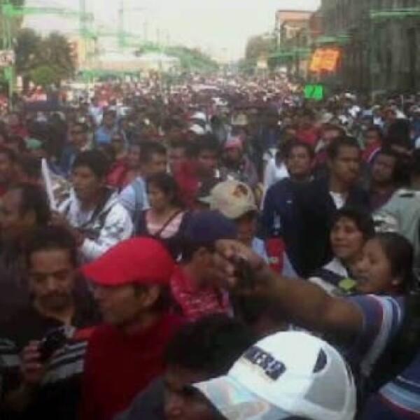 Protestas-San Lázaro- Toma de posesión 12