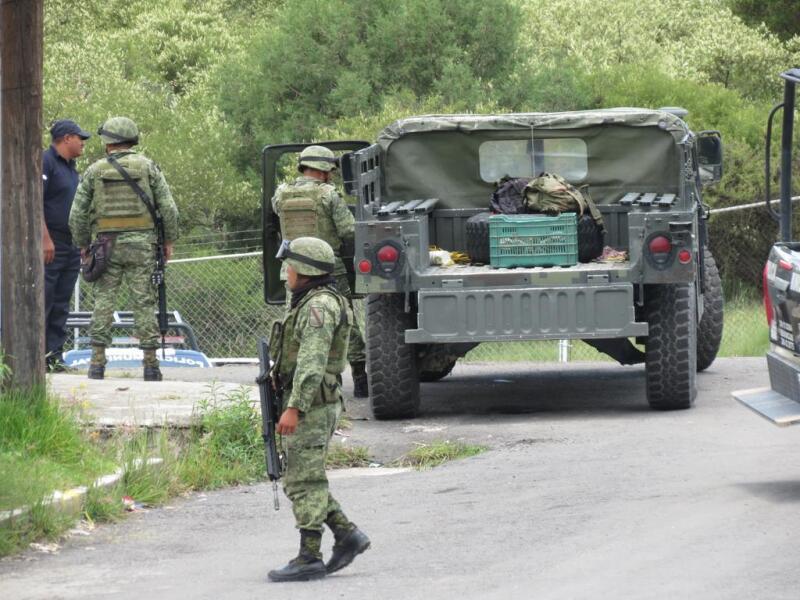 Guardia Nacional en Puebla