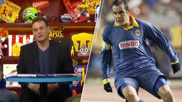 David Faitelson y Cuauhtémoc Blanco